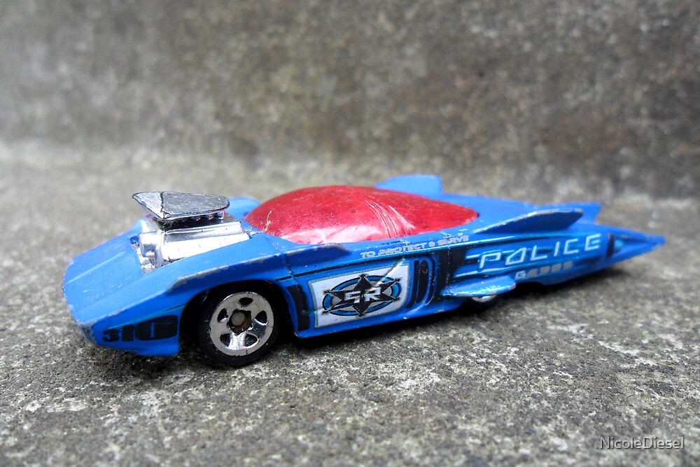 Police Car by NicoleDiesel