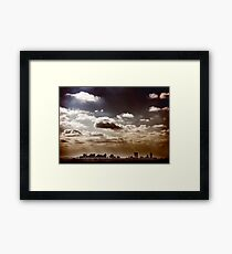 Where No One Knows My Name Framed Print
