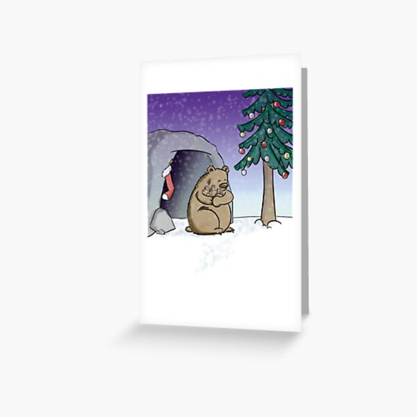 The Best Christmas Gift Greeting Card