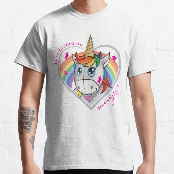 Unicorn magic rainbow Classic T-Shirt