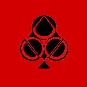 4=1 red by Dkard