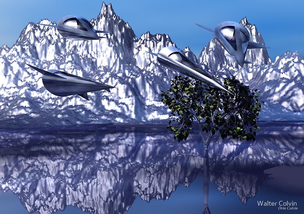 Metal Desert Planet by Walter Colvin