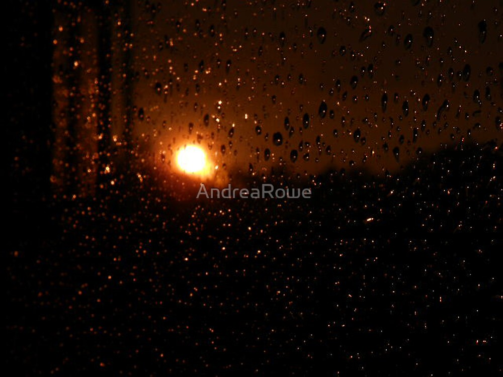 Wet Sunset by AndreaRowe