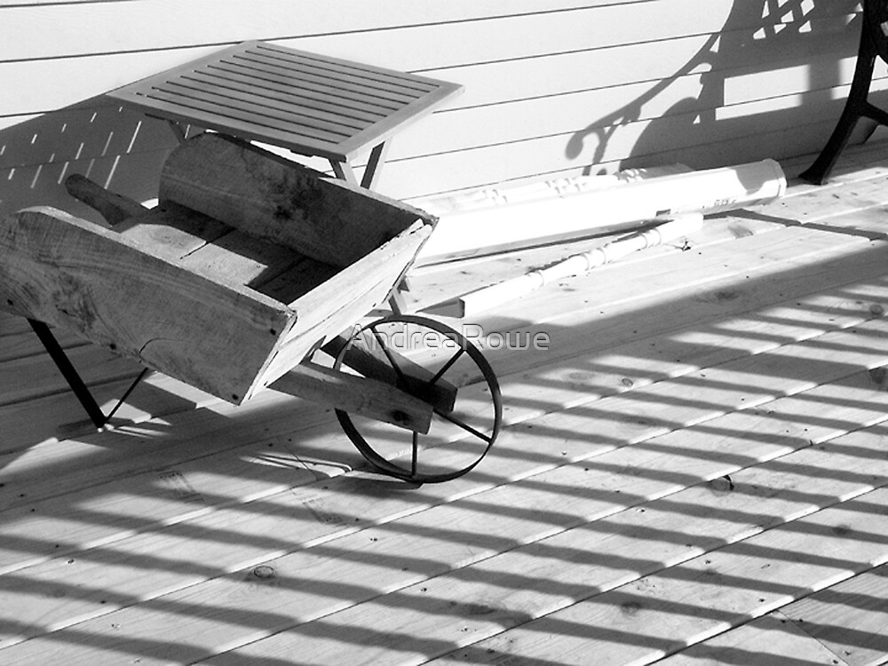 Wheelbarrow Lines by AndreaRowe