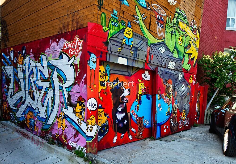 Kensington Mkt Graffiti by tazbert
