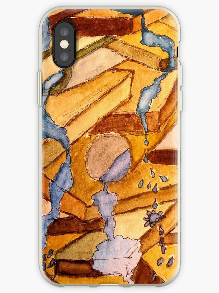 Let It Flow - iPhone Case by TrixiJahn