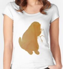 Prairie dog  Women's Fitted Scoop T-Shirt
