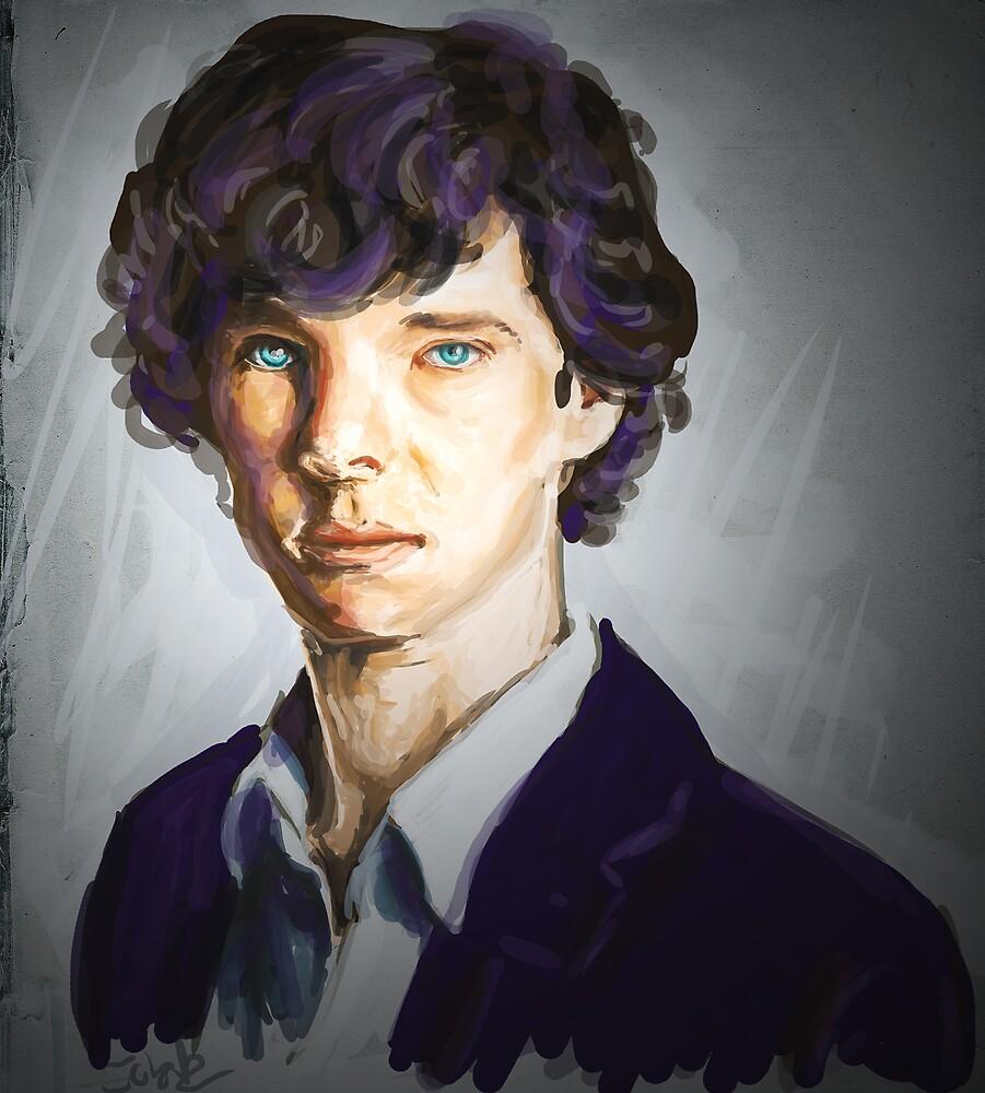 Sherlock Holmes by johnwatsonian