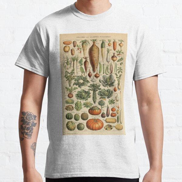 vegetables vintage illustration Classic T-Shirt