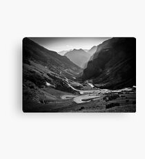 Davos to Stelvio Pass  Canvas Print