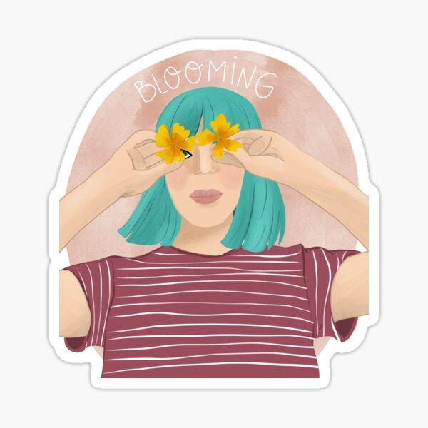 Blooming Sticker