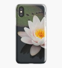 Peaceful Waterlily iPhone Case