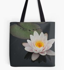 Peaceful Waterlily Tote Bag