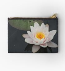 Peaceful Waterlily Studio Pouch