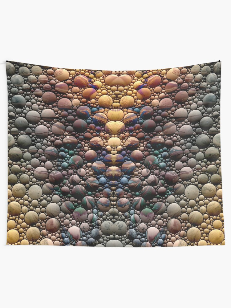 Alternate view of Pebble Path Tapestry