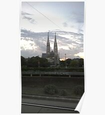 Votive Church, Vienna Poster