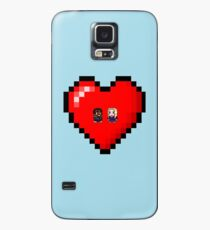"""Love in 8-bit"": Britta and Troy (Style A) Case/Skin for Samsung Galaxy"