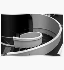 Circular stairs Poster