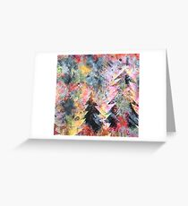 Wildfire. Greeting Card