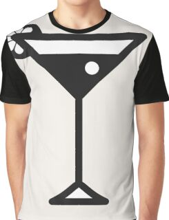 Cocktail Graphic T-Shirt