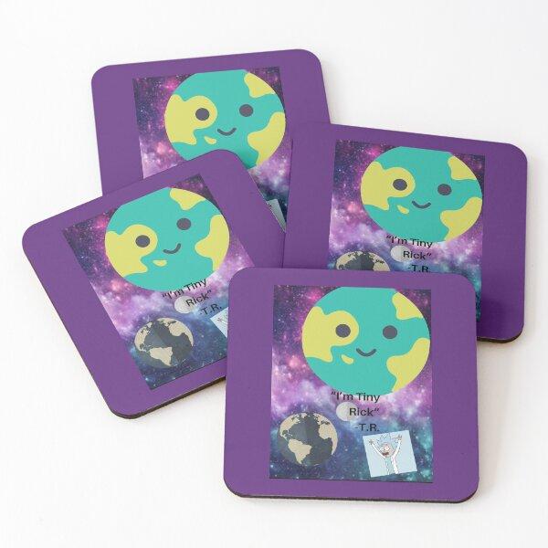 Tiny Rick Coasters (Set of 4)