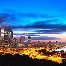 Perth City at Sunrise by jordancantelo