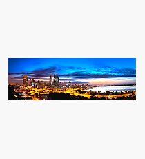 Perth City at Sunrise Photographic Print
