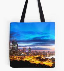 Perth City at Sunrise Tote Bag