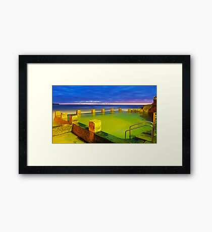 An Invitation to Swim Framed Print