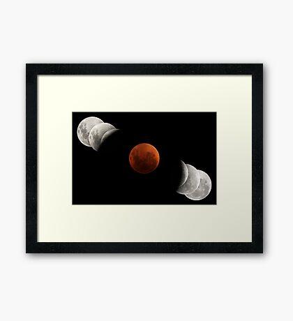 2007 Lunar Eclipse Framed Print