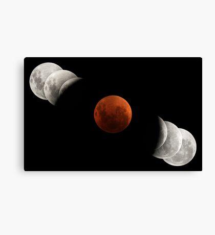 2007 Lunar Eclipse Canvas Print