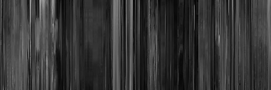 Moviebarcode: Psycho (1960) by moviebarcode