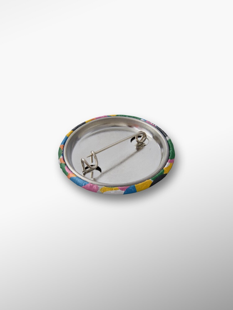 Alternate view of Abstract Rainbow Pin
