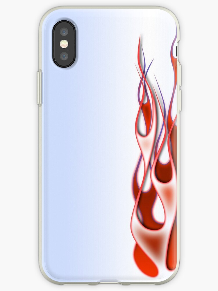 Flames iPhone Case by laurence2k
