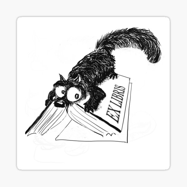 Ex Libris Guardian Sticker