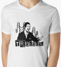 Trololo  Men's V-Neck T-Shirt
