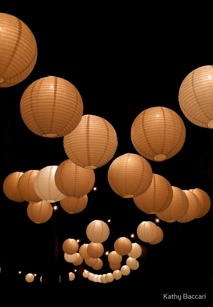 Japanese Lanterns by Kathy Baccari