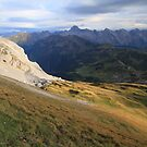 Alps landscape by Willy Vendeville