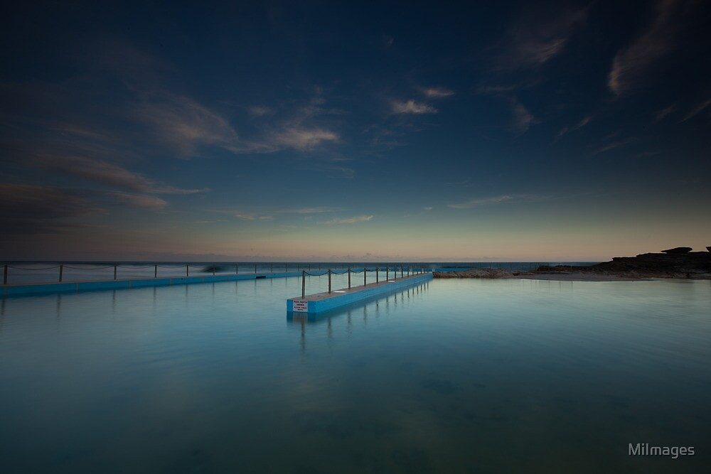 Pool Reflection South Curl Curl by MiImages