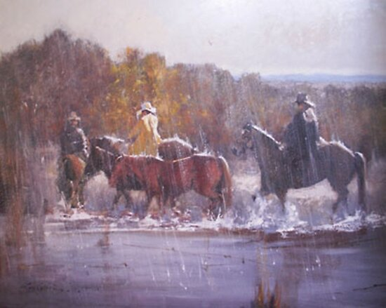 Riders of the Storm by Lyn Green