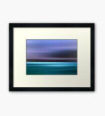 Big Blue Yonder Framed Print