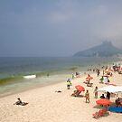 Ipanema Beach by Viktoryia Vinnikava