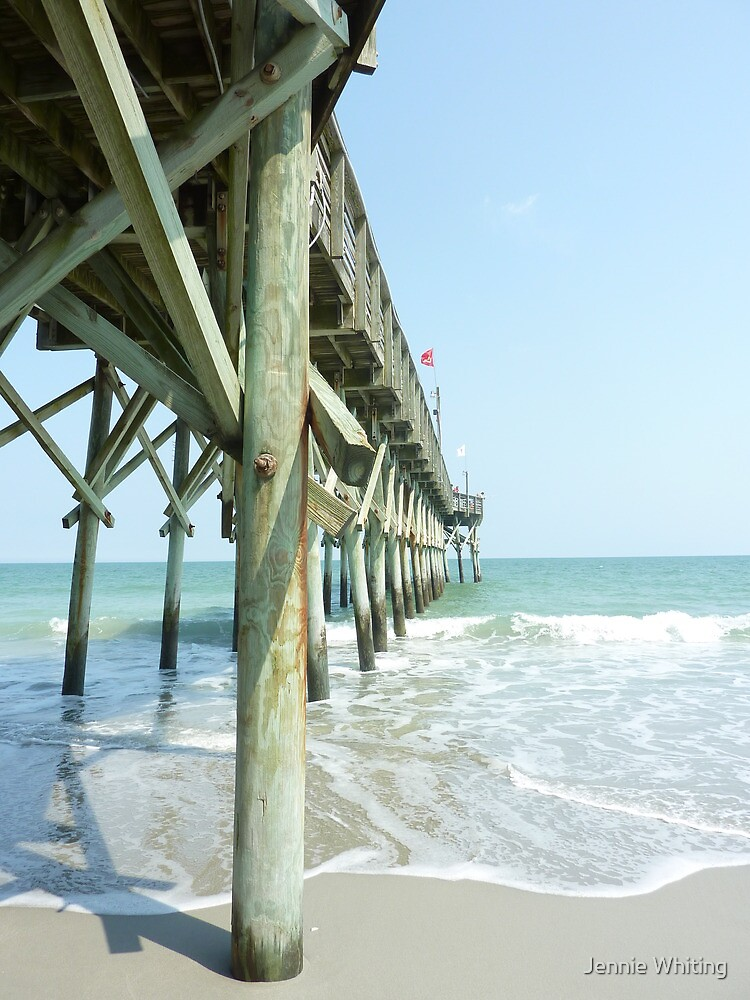 Wooden Pier by Jennie Whiting