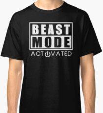Beast Mode Gym Bodybuilding Sport Motivation Classic T-Shirt