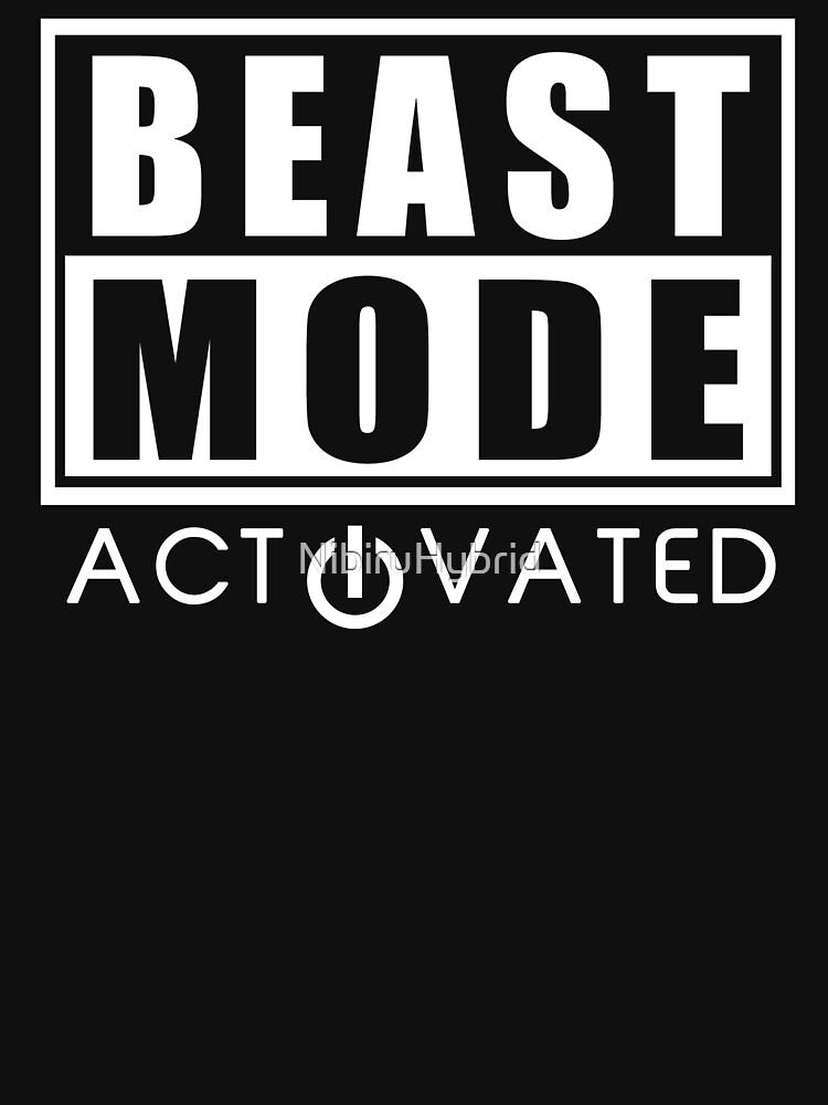 Beast Mode Gym Bodybuilding Sport Motivation | Unisex T-Shirt