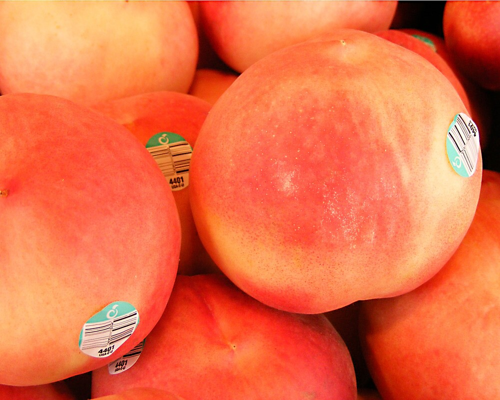 Peaches by Susan Glaser