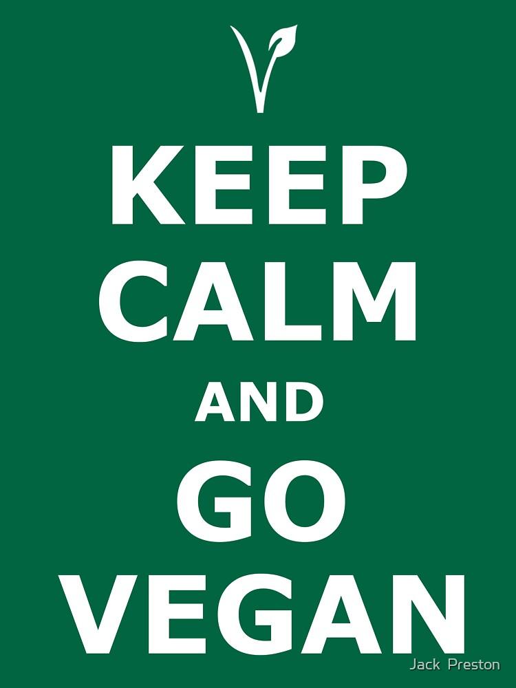 Keep Calm and Go Vegan | Unisex T-Shirt