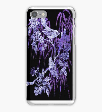 BLUE BIRDS. iPhone Case/Skin
