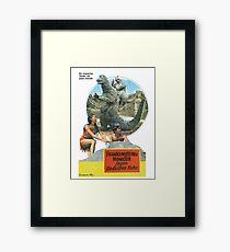 Frankensteins Monster Framed Print