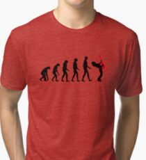 Rock Evolution Tri-blend T-Shirt